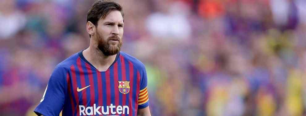 Puñalada a Florentino Pérez: se ofrece al Barça (pero Messi no lo quiere. Y Valverde tampoco)