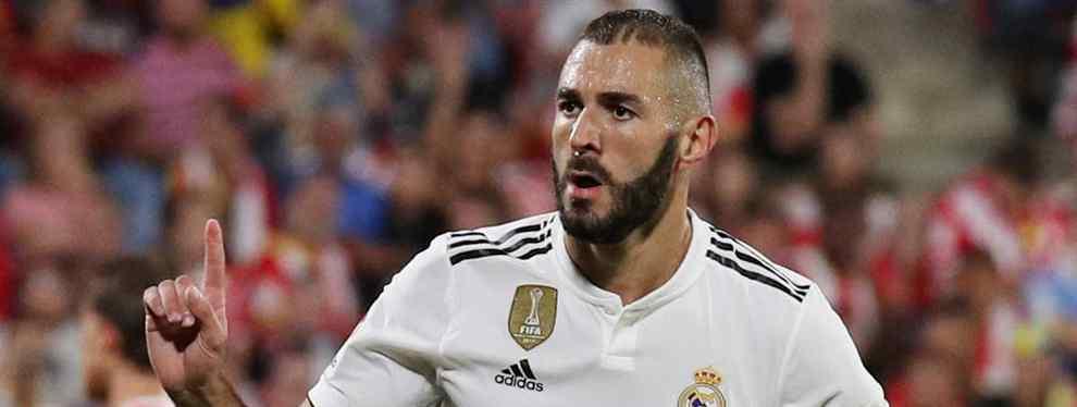 Benzema se entera: negociación secreta con un '9' Top (y llega en verano al Real Madrid)