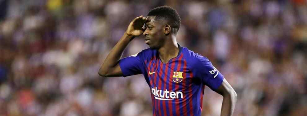 Dembélé lo sabe: traición en el Barça (y Messi está metido en el asunto)