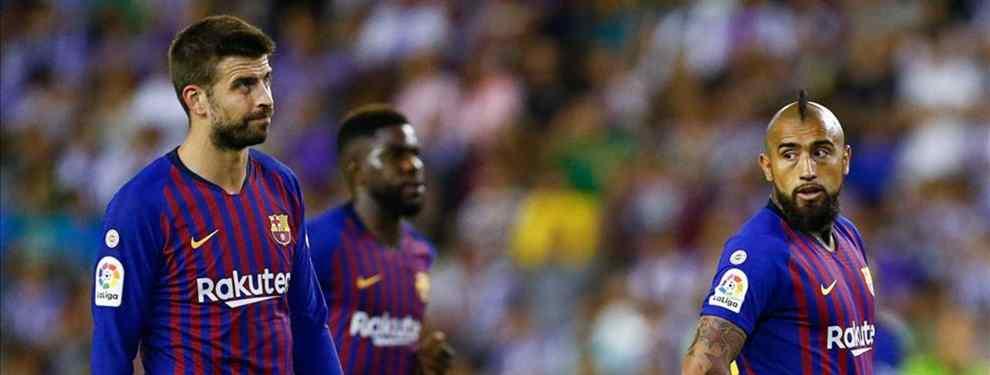 Piqué avisa: se lo lleva el Real Madrid (y es un fichaje que pide Valverde en el Barça)