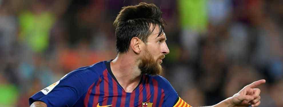 100 millones y llega en enero: Messi elige nuevo galáctico para el Barça