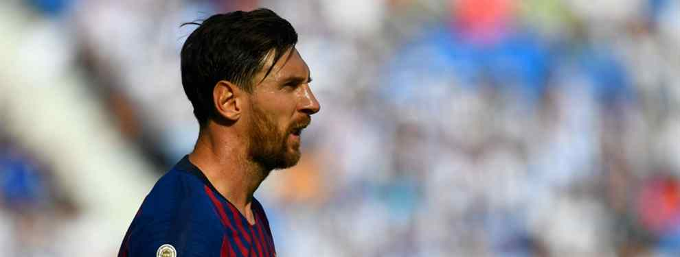 Leo Messi tiene una petición muy clara para Ernesto Valverde. El capitán del Barça le pide un crack al técnico extremeño, y de paso corta una cabeza del once culé.