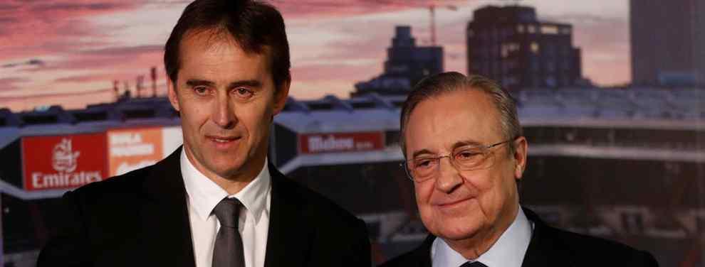 Dos formas de ver al Real Madrid. Florentino Pérez, que ficha jugadores, pero también nombres. Y Julen Lopetegui, que mira lo primero y se olvida de lo segundo.