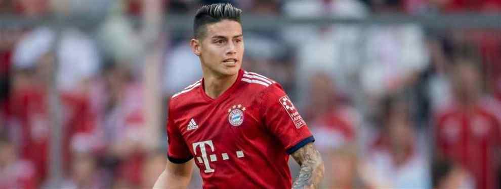 El galáctico que pide a James Rodríguez para su equipo (y quiere sacarlo del Bayern)