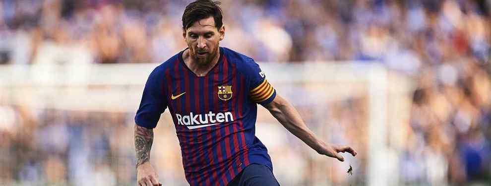 Messi avisa al Barça: el crack que el club no puede dejar escapar
