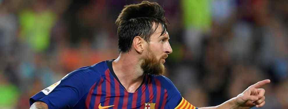 Leo Messi, la gran estrella del Barça que dirige Ernesto Valverde, ha lanzado un mensaje muy claro a la directiva de Josep Maria Bartomeu: hay que echar a este jugador del club