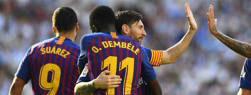 Dembélé y la reunión secreta en el Barça: Messi monta el show en el Camp Nou