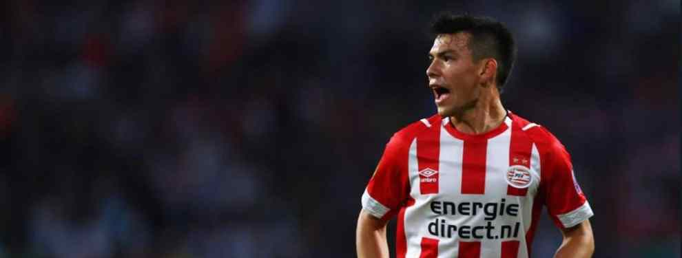 'Chucky' Lozano y la reunión secreta que revoluciona el Barça - PSV de Champions (y Messi reacciona)