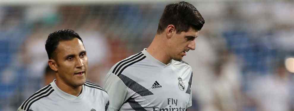 Terremoto con Keylor Navas en el Real Madrid (y no es por Courtois)