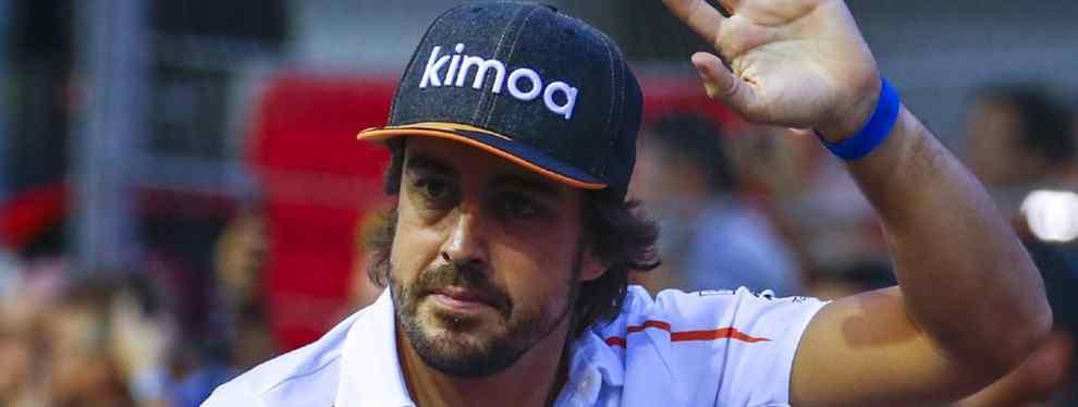 Fernando Alonso se va de McLaren y con razón: ojo lo que le espera a Carlos Sainz en 2019
