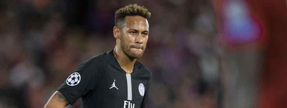 El ex delantero del Barça Neymar, el gran objetivo de Florentino Pérez para reemplazar a Cristiano Ronaldo en el Real Madrid, está viviendo todo un calvario en el PSG