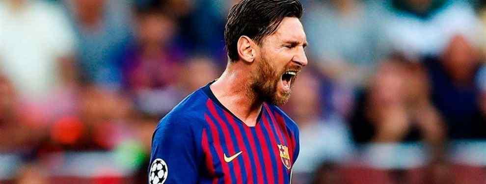 La respuesta más bestia de Messi a la vacilada de Florentino Pérez