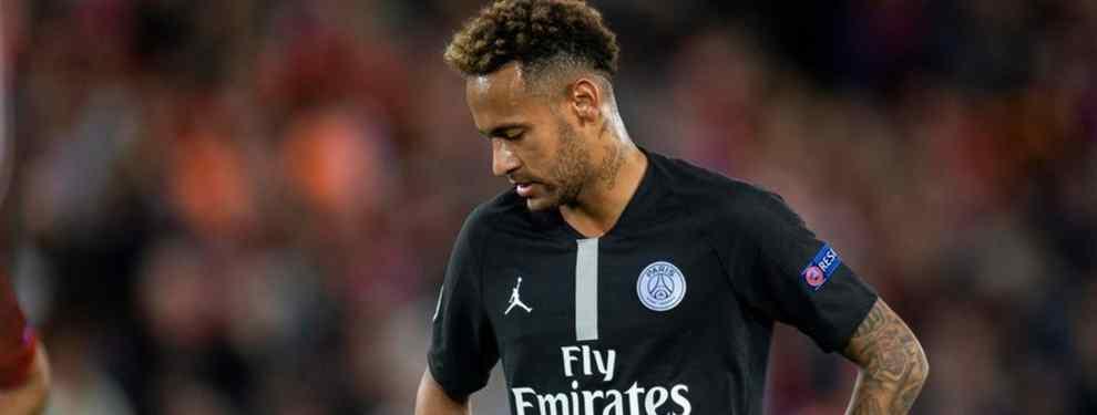 Neymar juega a dos bandas: la otra oferta que lo saca del PSG (y no es del Real Madrid)