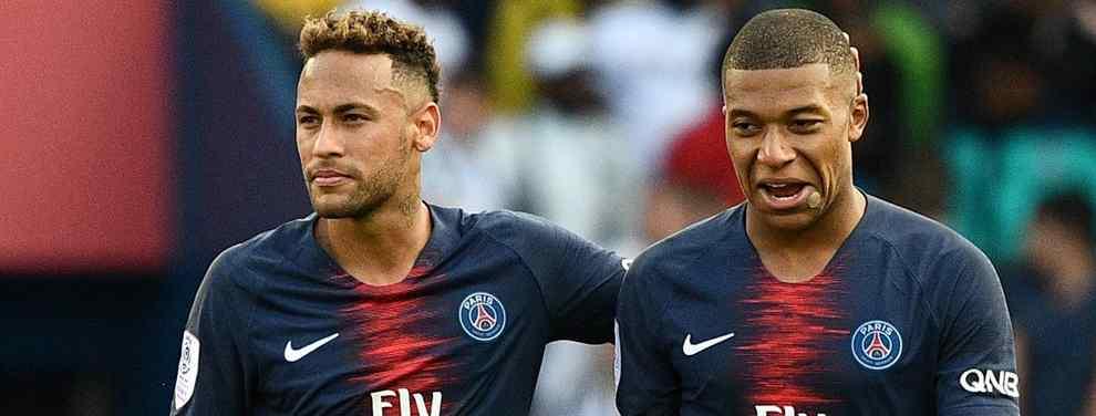 Mbappé está metido en un follón muy feo con Neymar: el lío que llega al Real Madrid