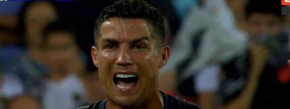 Messi se moja (y manda un recadito a Cristiano Ronaldo por la expulsión)