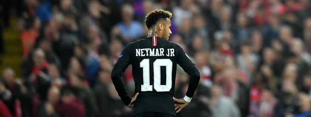 Neymar y la reunión secreta para salir del PSG (y no es con el Real Madrid)