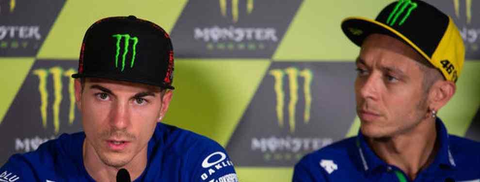 No callan más: Valentino Rossi acusa a Yamaha (y Maverick Viñales los destroza)