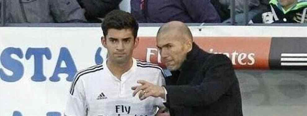 Zinedine Zidane justifica la capitanía de su hijo en el Castilla