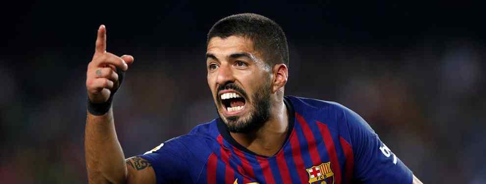 Luis Suárez tiene recambio: el Barça va a por un galáctico (y ya negocian)