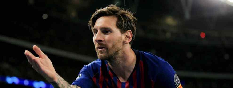 Messi revienta a Cristiano Ronaldo. Y a Sergio Ramos: el mensaje en el vestuario del Barça