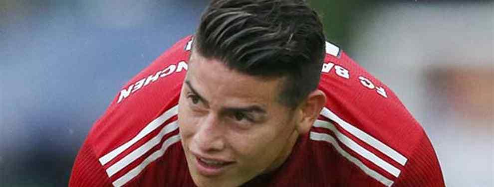 Pillada a James Rodriguez: la frase que Niko Kovac no perdona (y lo mata en el Bayern Múnich)