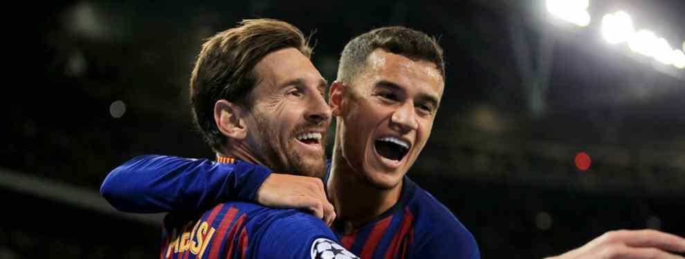 Coutinho alucina: Messi para un fichaje galáctico del Barça (y lo que pide en su lugar)