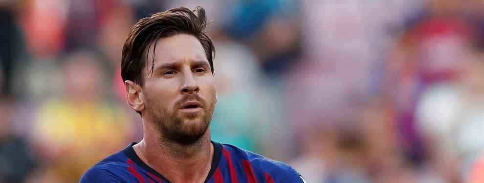 Una estrella llama a Florentino Pérez para recalar en el Real Madrid. Un crack que reniega del Barça y de Leo Messi y quiere acabar vistiendo de blanco en enero.