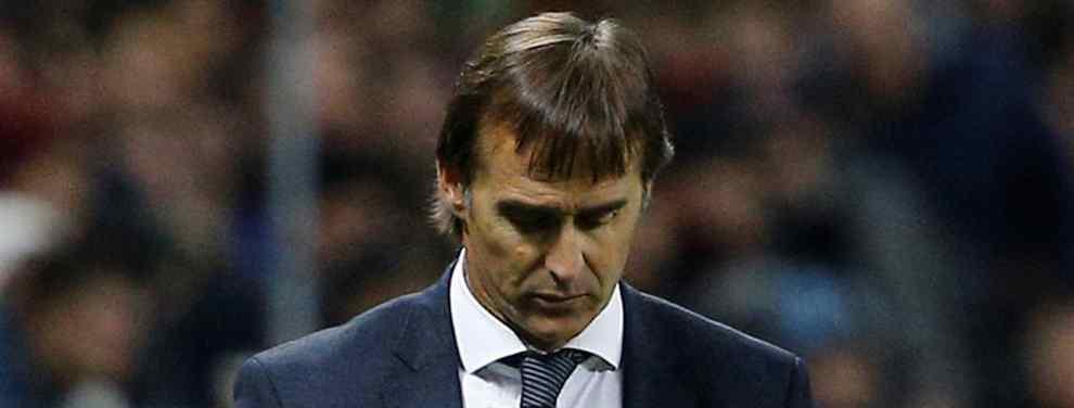 A la finalización del partido en Vitoria el técnico vasco Julen Lopetegui se dirigió a Florentino Pérez para advertirle que lo que había previsto en pretemporada se estaba cumpliendo: Necesitaban una delantera nueva.