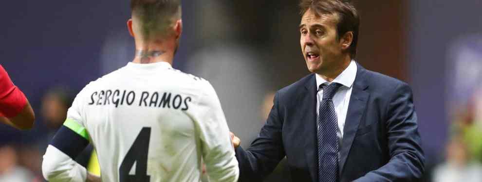 Parece que la plantilla del Real Madrid no está a tope con su entrenador Julen Lopetegui. El tiki taka que ha traído el exseleccionador español choca bastante con la idiosincracia del juego del conjunto blanco