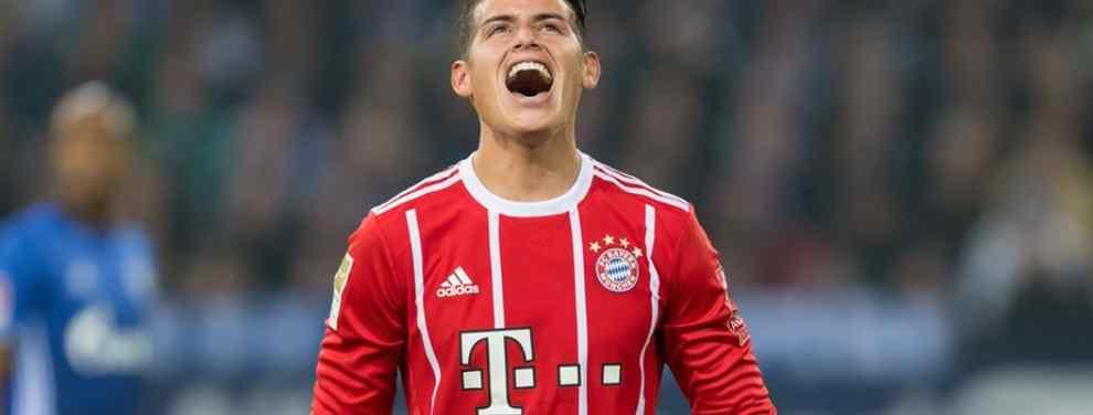 James Rodríguez no quiere seguir en el Bayern de Múnich, eso no es ningún secreto. El mediapunta colombiano ha chocado esta semana frontalmente con su entrenador Niko Kovac, algo que se veía venir.