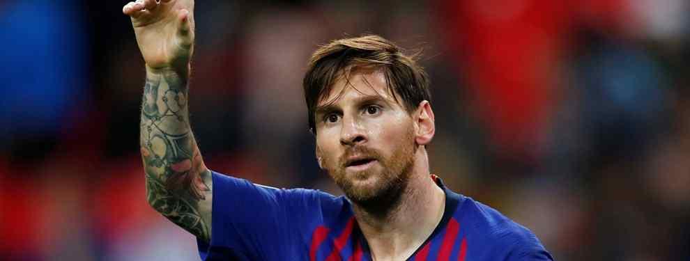 Leo Messi se frota las manos con la crisis del Real Madrid. El argentino destapa la gran mentira del conjunto blanco con un dardo a un crack. Y recibe respuesta.