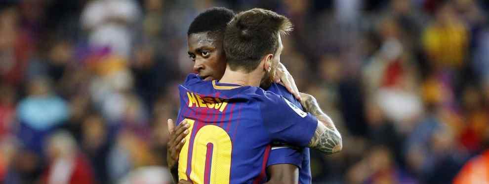 Antes del partido ante el Valencia se pudo ver que la tendencia no engaña a nadie: Ousmane Dembelé volvió a ser el descartado del once en un partido de vital importancia.