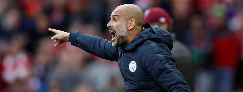 Pep Guardiola mete en un serio problema al Barça. El técnico catalán tiene una oferta en mente que revoluciona el mercado para reforzar el Manchester City.