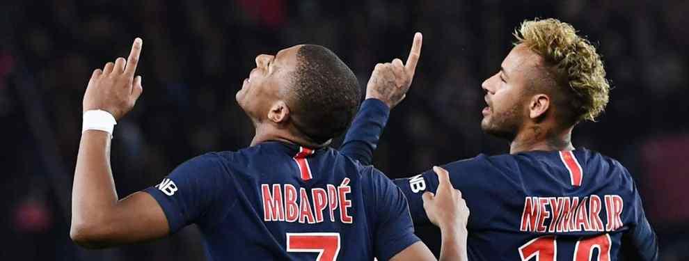 Florentino Pérez ya negocia por llevarse a un crack del PSG. Neymar sabe que el presidente del Real Madrid quiere ficharlo, y se lanza a por él para atarlo cuanto antes.
