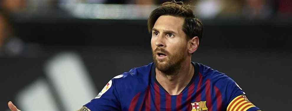 Messi bloquea un fichaje del Barça (y negocia con Florentino Pérez)