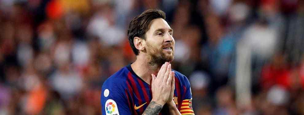 Messi lo quiere fuera: el crack al que sentencia en el Barça (y no es Dembélé. Y pide un fichaje)