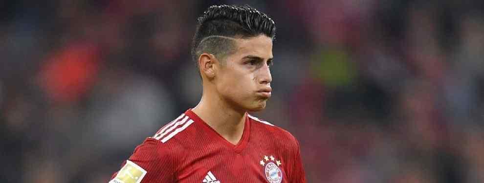 No corren tiempos fáciles ni para James Rodríguez ni para el Bayern de Múnich. Así, mientras el equipo bávaro es sexto en Bundesliga, a cuatro puntos del Borussia Dortmund, el colombiano es suplente habitual para Niko Kovac.