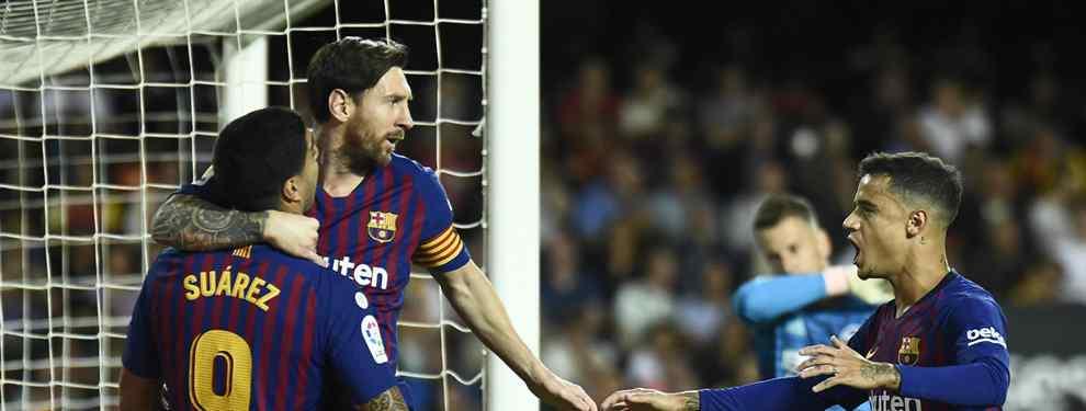 Coutinho, Luis Suárez y Messi bajan el pulgar: el peso pesado con los días contados