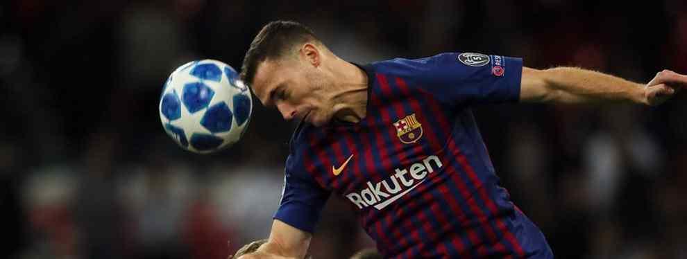 Vermaelen canta en el Barça. Y un crack se acuerda de Yerry Mina (y saca los colores a Valverde)