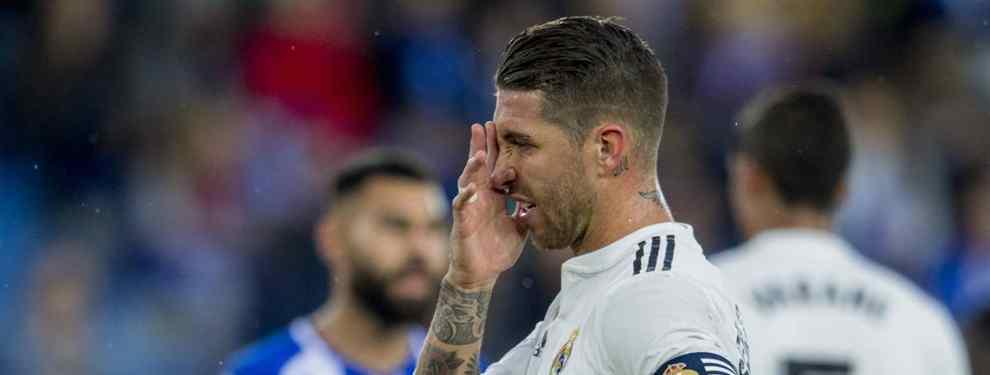 Se va del Real Madrid. Se lo ha dicho a Sergio Ramos. Y a Isco (y es un titular de Lopetegui)
