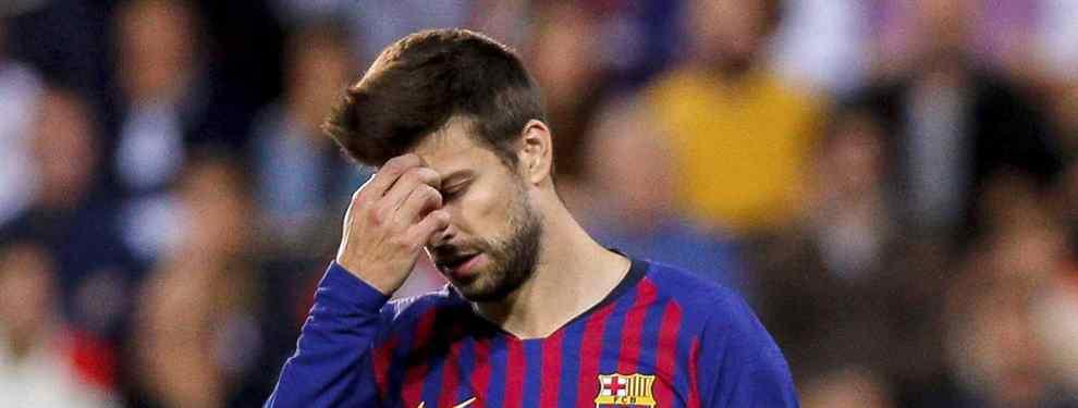 Gerard Piqué se entera de que el Barça se está moviendo en el mercado para realizar un fichaje que puede dinamitar el vestuario del conjunto azulgrana en enero.
