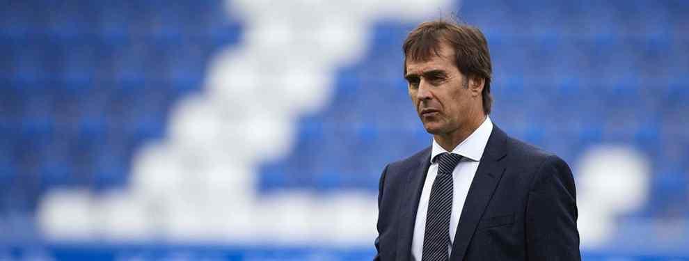 Julen Lopetegui le echa el freno al fichaje de Eden Hazard por el Real Madrid. El técnico vasco pone a otro galáctico por delante en la lista de prioridades para enero.