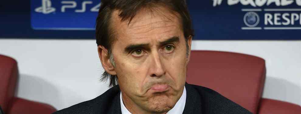 Cola. Lopetegui tiene la soga al cuello y los movimientos en el mercado se suceden.  La salida de Julen se da por hecha en los mentideros del mundillo del fútbol, ya sea en caso de derrota contra el Barça, más adelante o en junio.