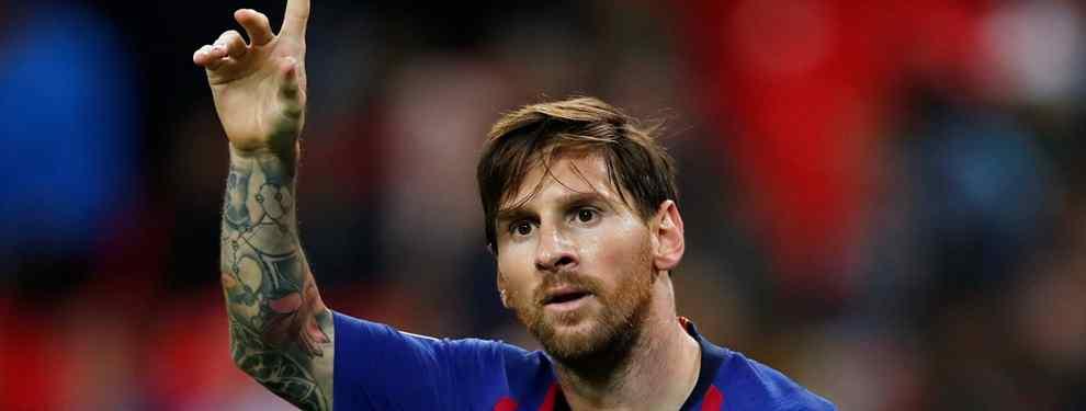 Messi lo quiere fuera: Piqué, Coutinho y Luis Suárez también (y Valverde se lo va a cargar)