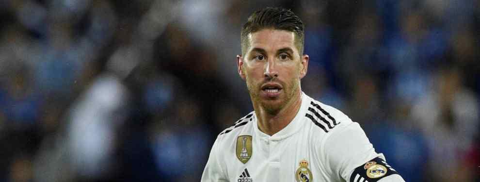 Florentino Pérez acelera una llegada al Real Madrid para el mes de enero. Sergio Ramos sabe que el presidente tiene un nombre entre ceja y ceja para reforzar la plantilla.