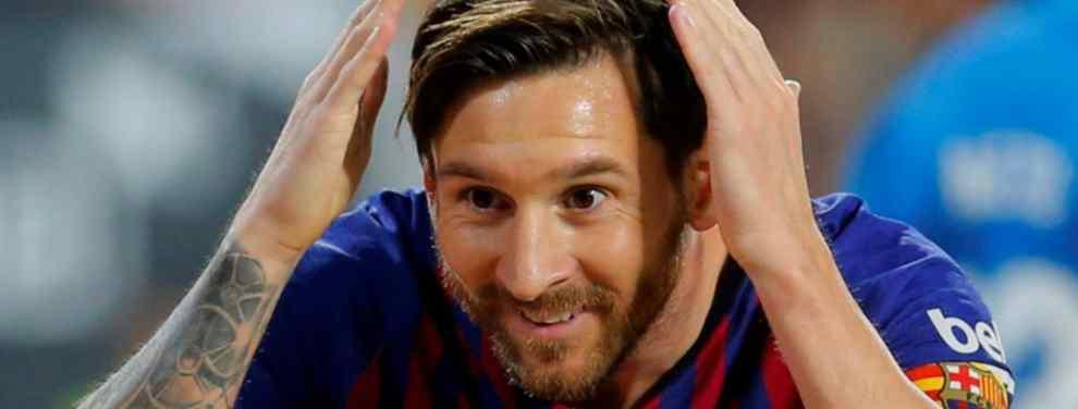 El Barça va a la guerra con el City por un fichaje bomba para Messi
