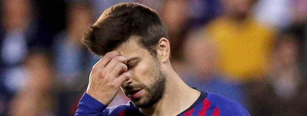 El rendimiento de Gerard Piqué en el Barça sigue sembrando dudas. Aunque su compromiso está fuera de cualquier discusión, a sus 31 años está claro que 'Geri' ya ha tenido sus mejores momentos en el campo y que le quedan pocos años