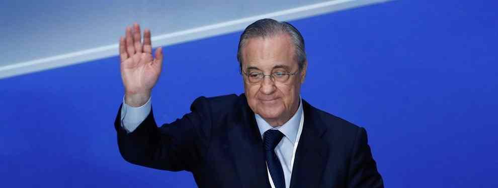 ¡Esta sí es la bomba! Florentino Pérez lo cierra: el fichaje para enero