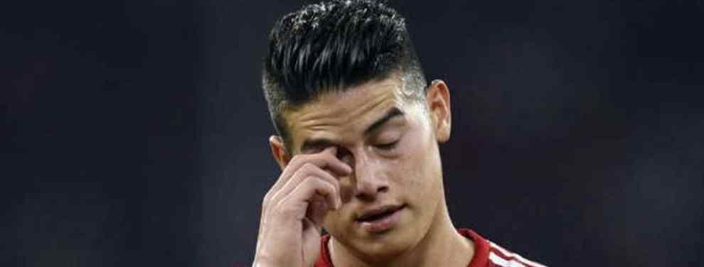 Mofas contra James Rodríguez: sale la porquería (y en el Bayern de Múnich no se habla de otra cosa)