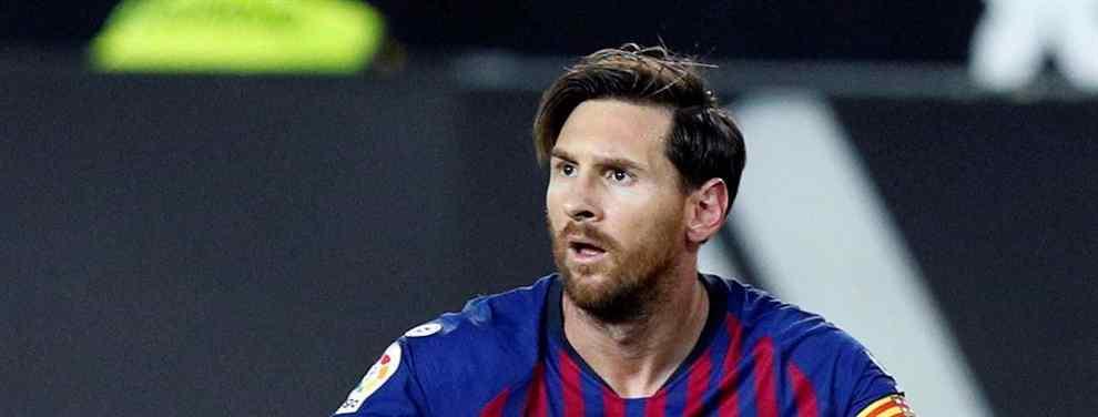 Pasa de Messi (y del Barça). Y llama a Florentino Pérez para ir al Real Madrid